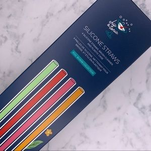 Chic and Tonic Silicone Straws